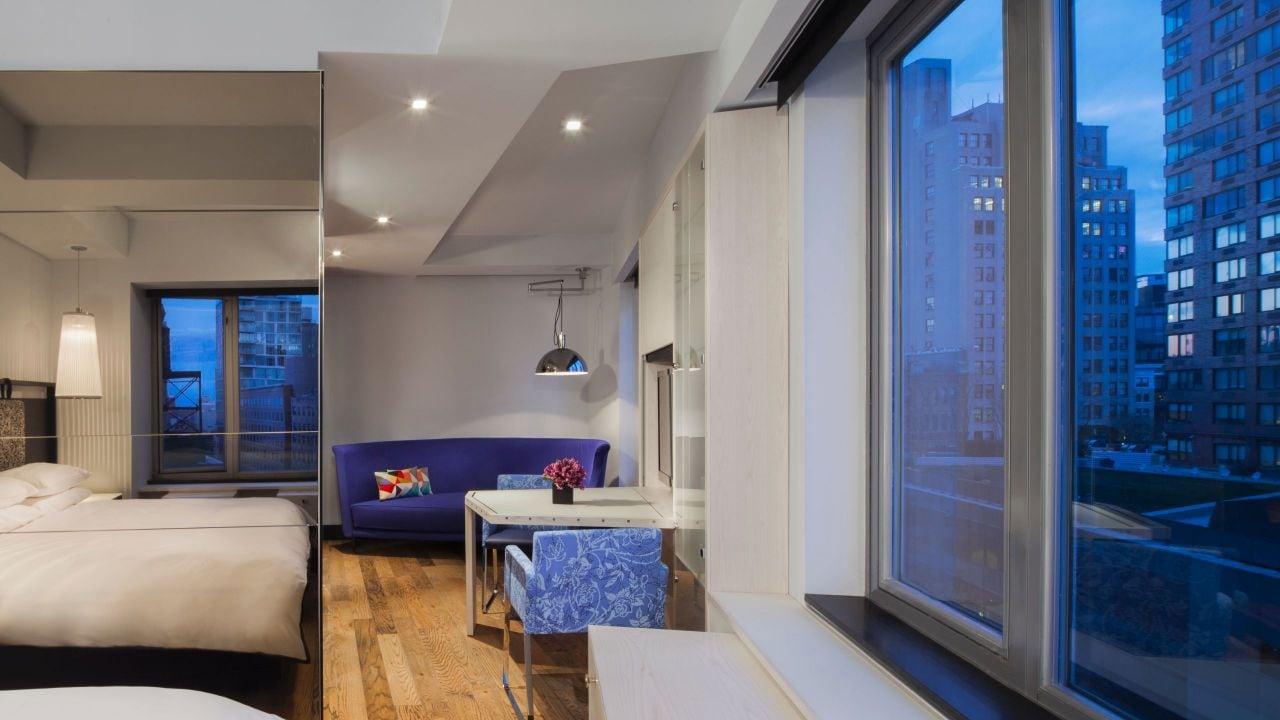 Alcove loft view