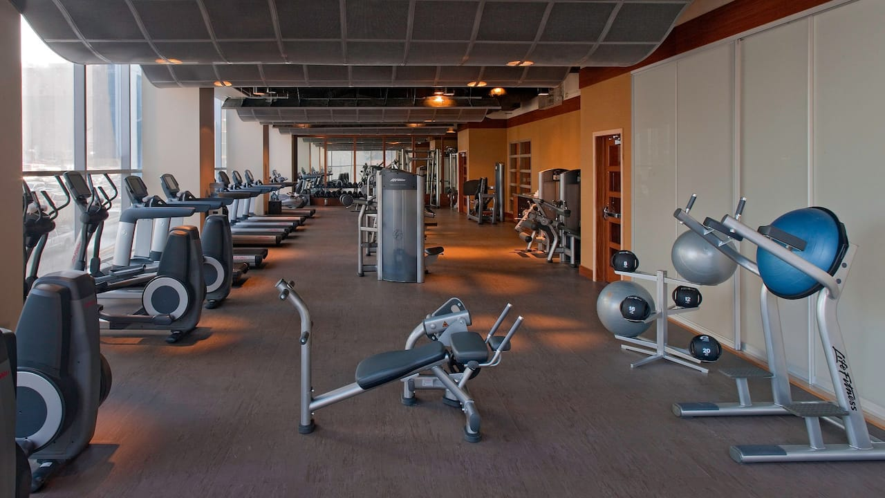 Hyatt at Olive 8 Fitness