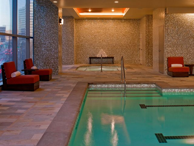 spa pool detail