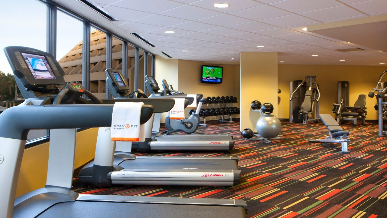 Hyatt Palm Springs Gym