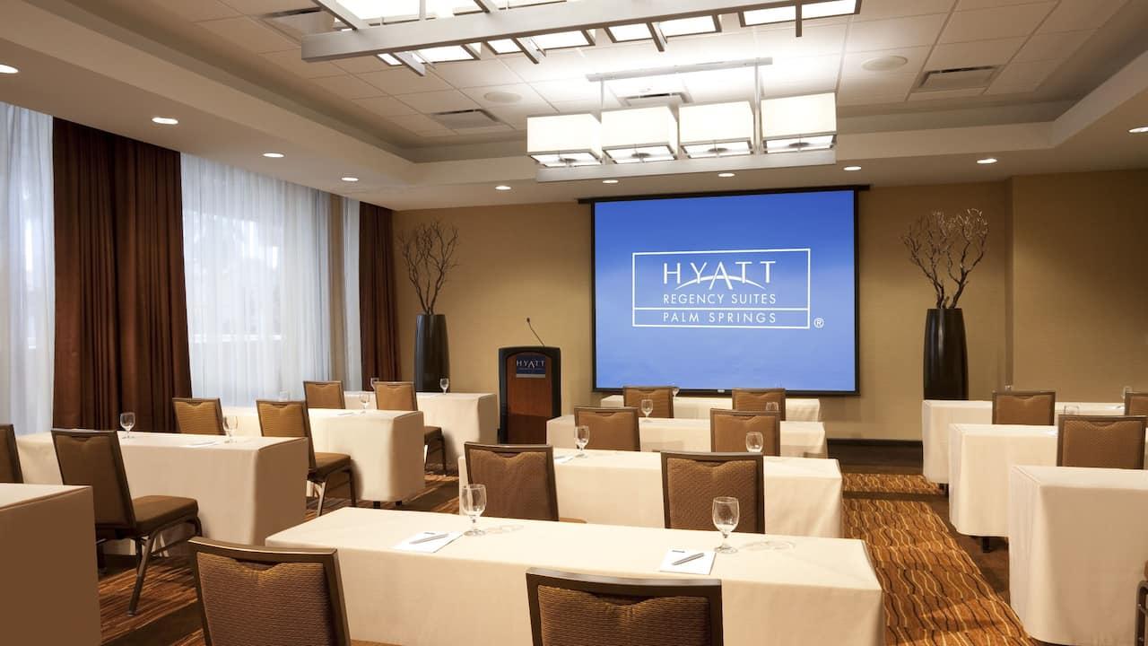 Hyatt Palm Springs Meeting Room