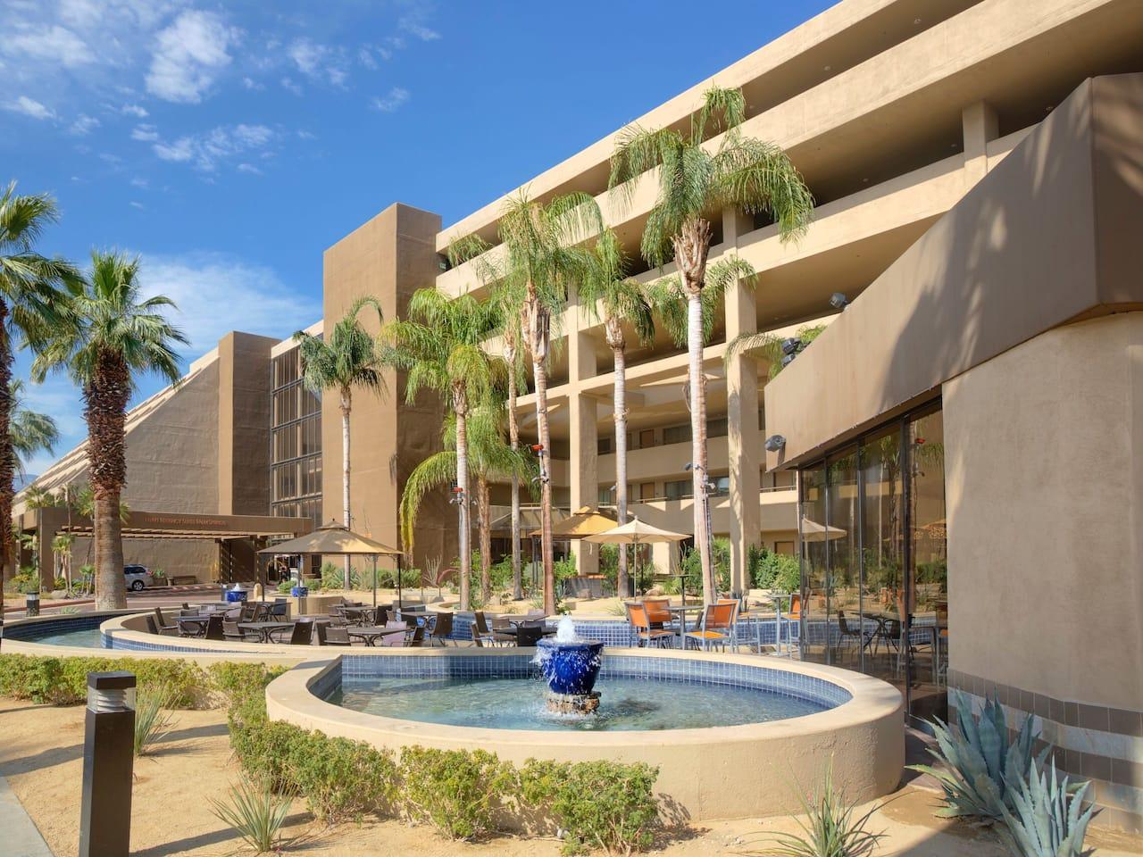 Hyatt Palm Spring Hoodoo