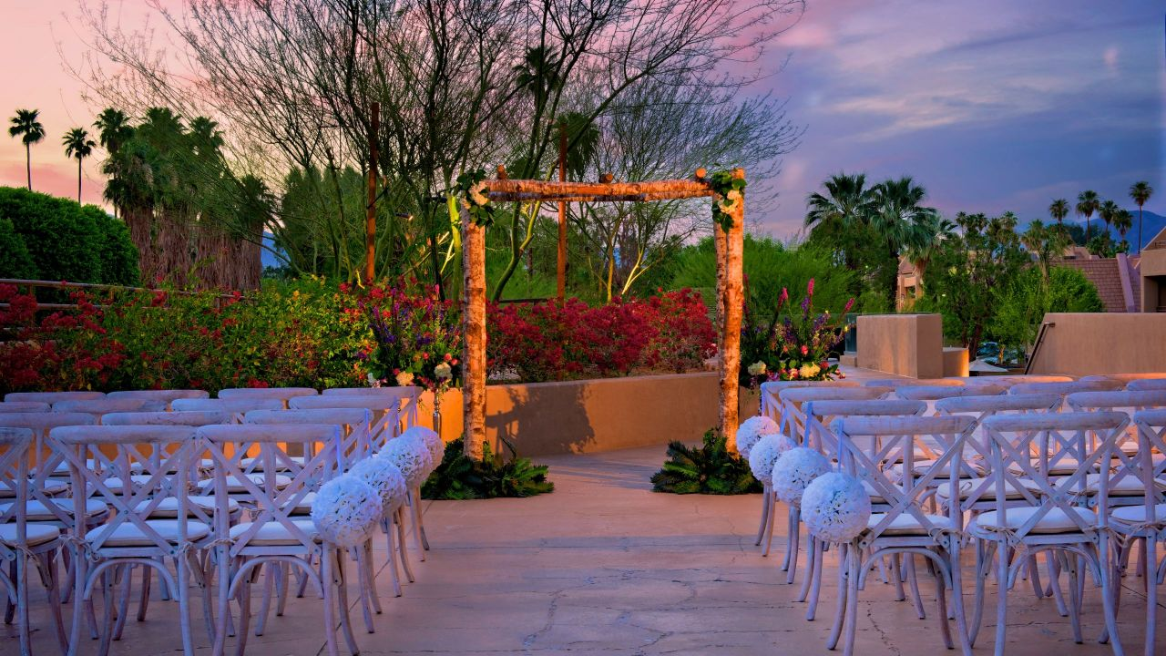 Hyatt Palm Springs Ceremony
