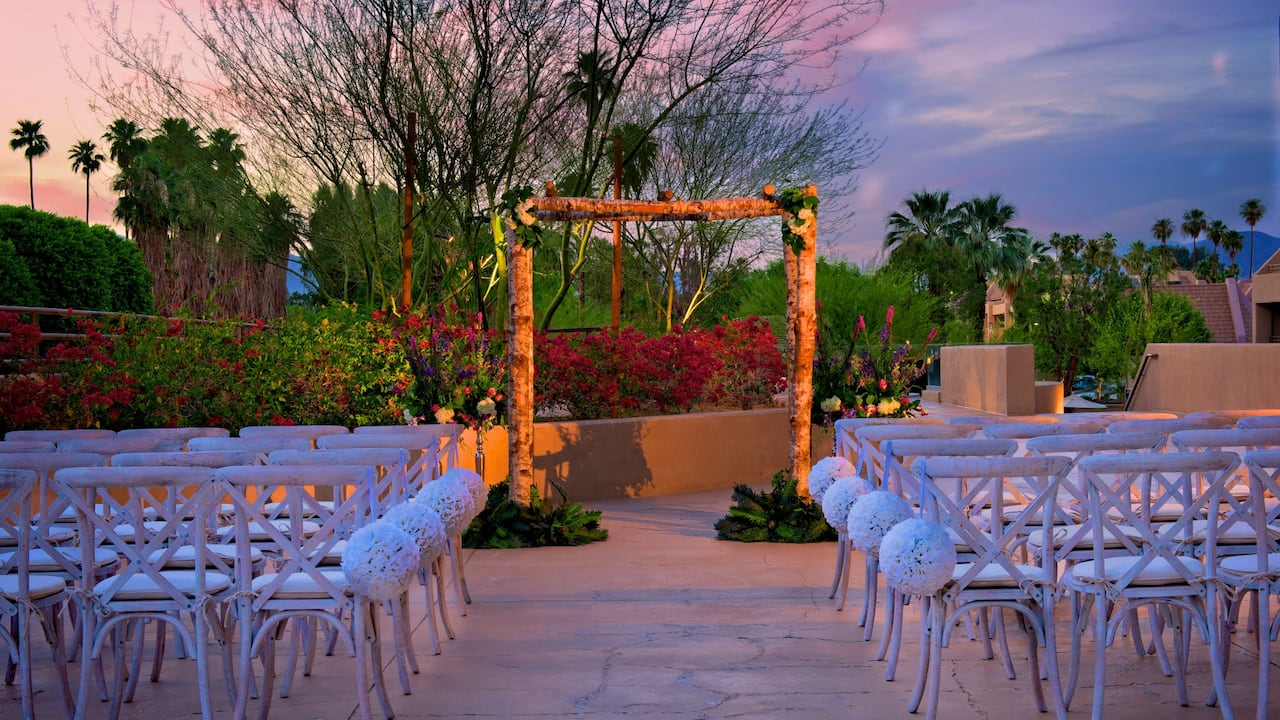 Hyatt Palm Springs Ceremony