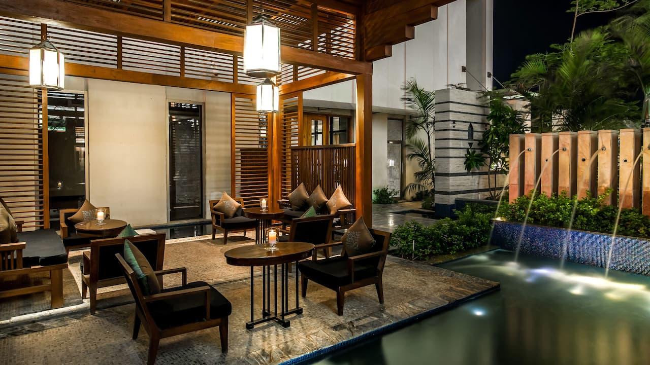 Hyatt Ahmedabad, Chocolart Outer Deck
