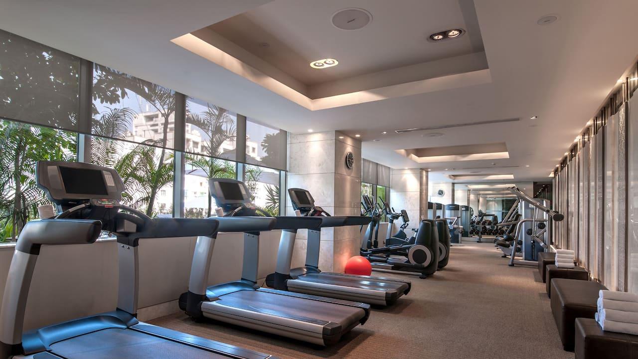 Hyatt Ahmedabad, fitness centre