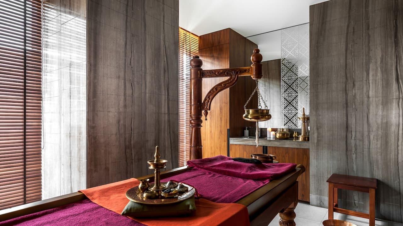 Hyatt Ahmedabad, spa
