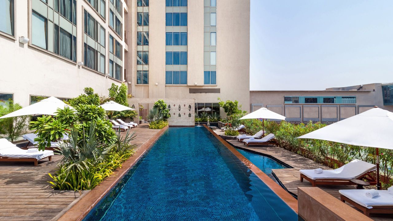 Hyatt Ahmedabad, pool outdoor