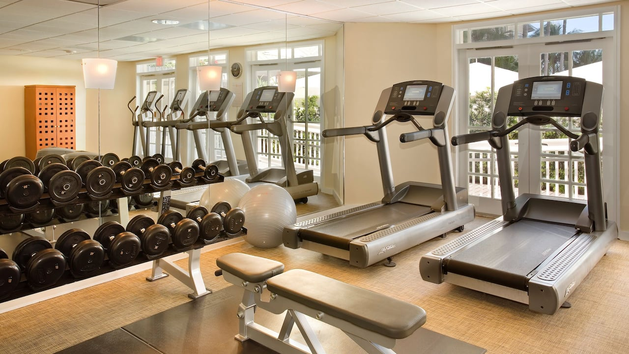 24/7 Fitness Center at Hyatt Centric Key West