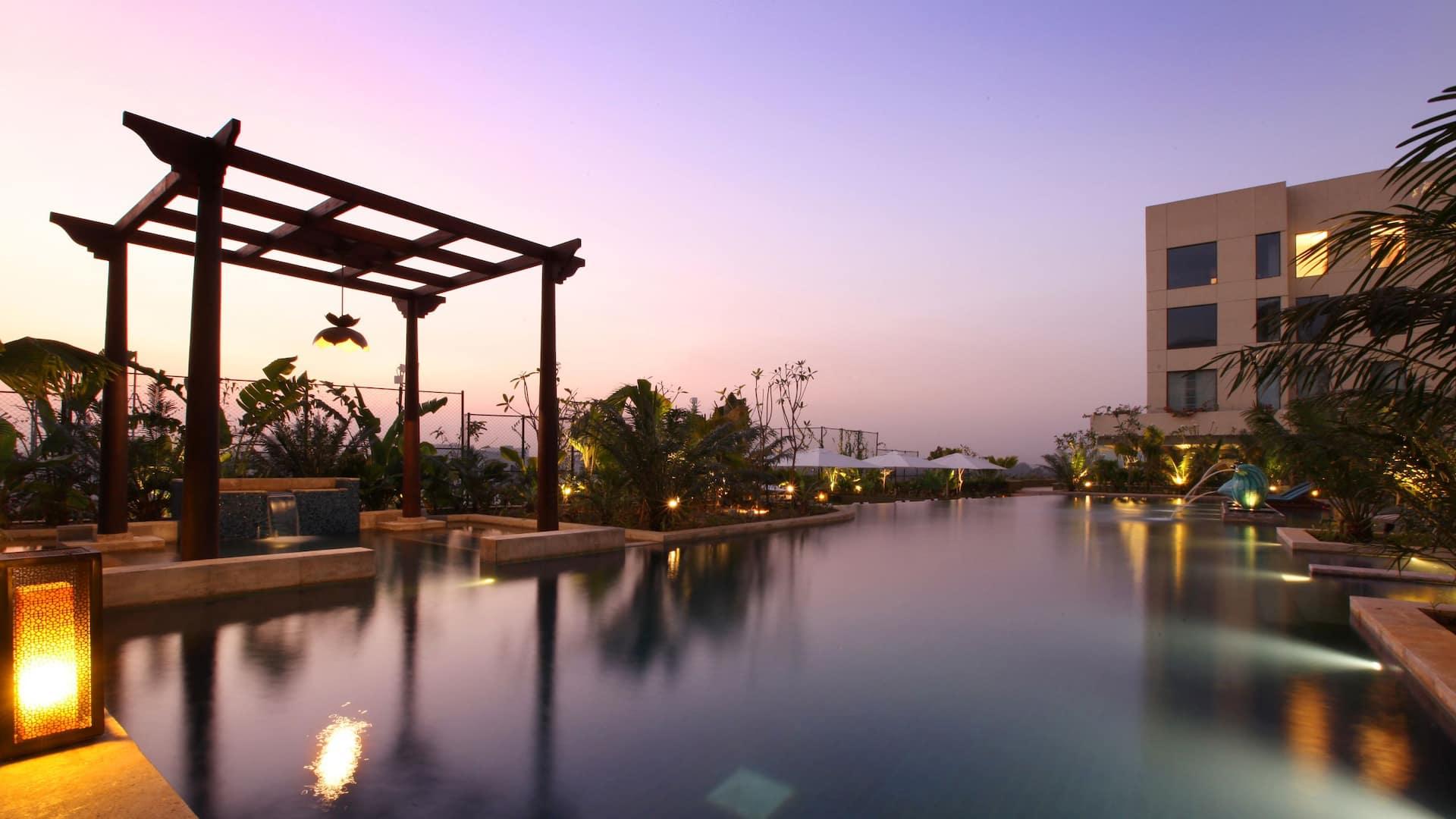 Hyatt Pune Swimming Pool