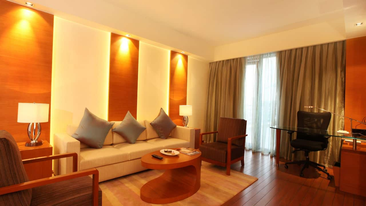 Hyatt Pune Living Room