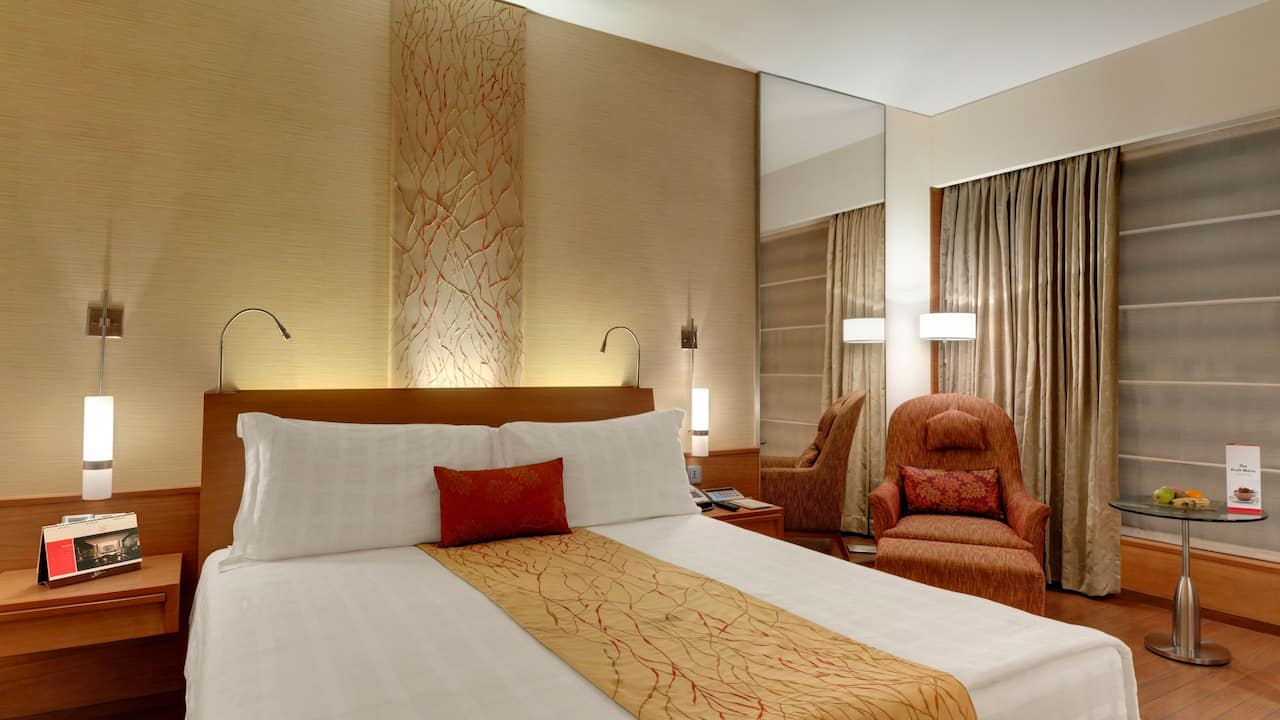 Hyatt Pune King Bed