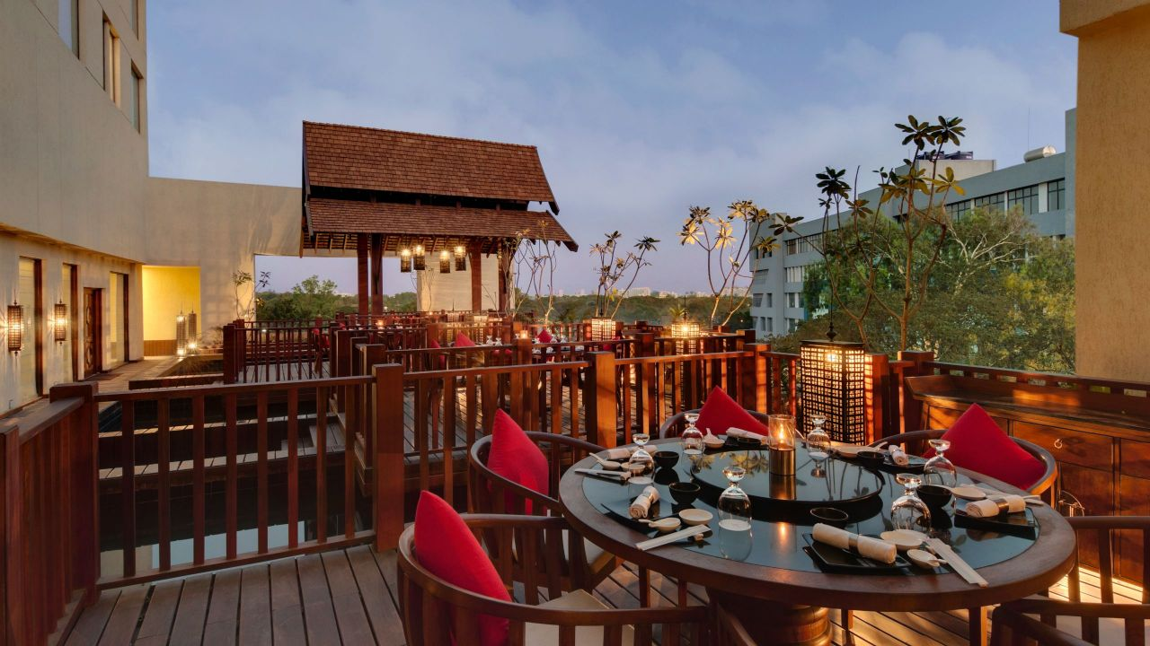 Hyatt Pune Baan Tao Outdoor Seating