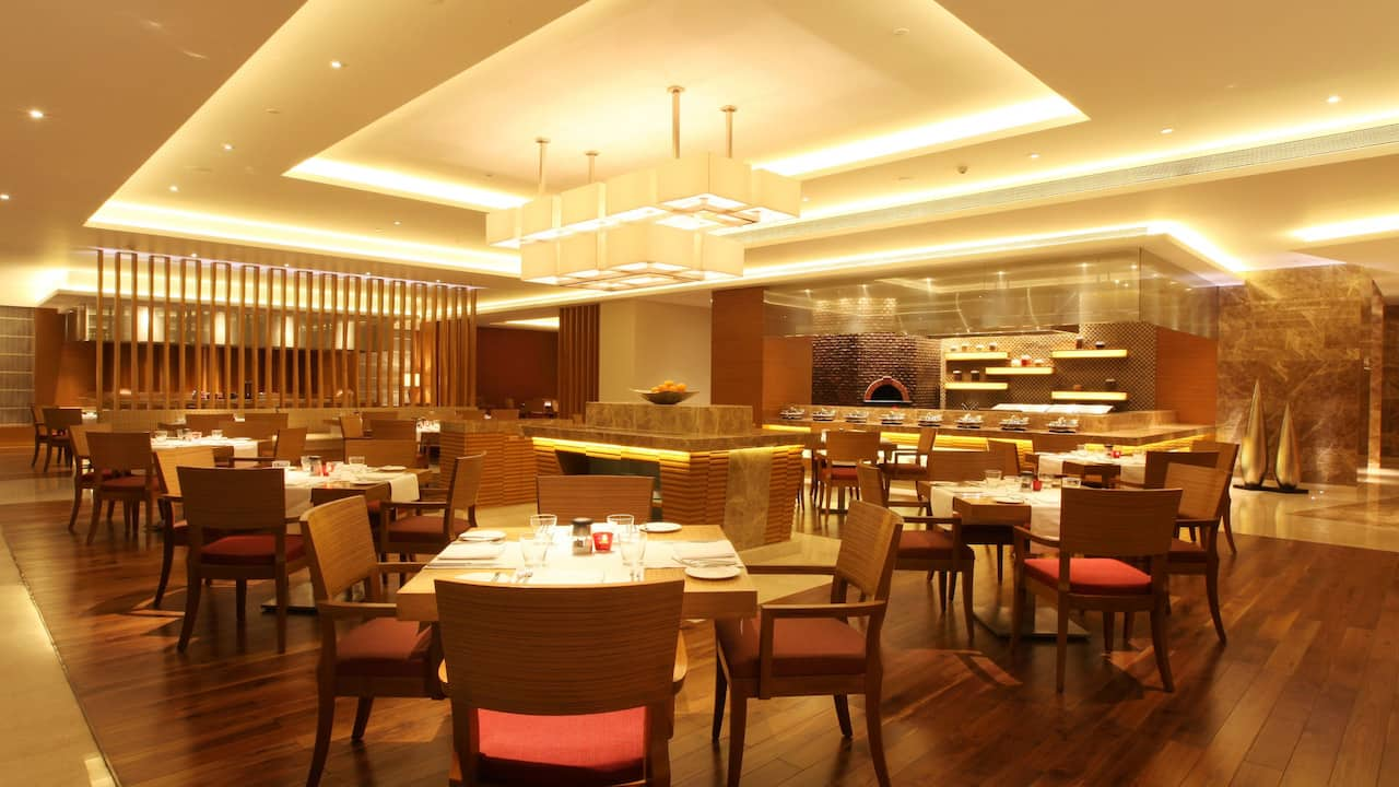 Hyatt Pune Collage Open Kitchen