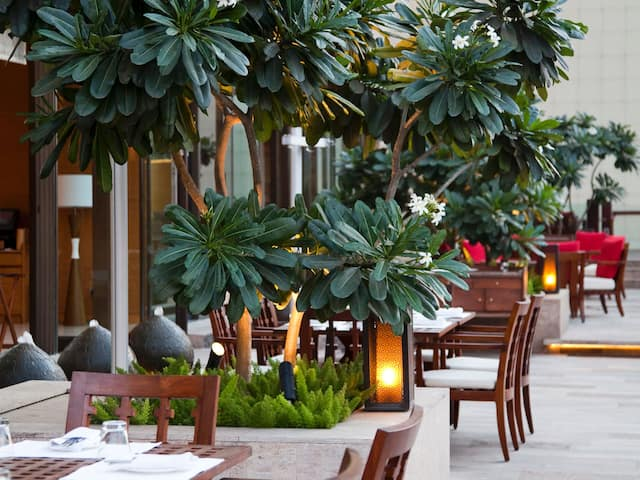 Hyatt Pune Outdoor Terrace