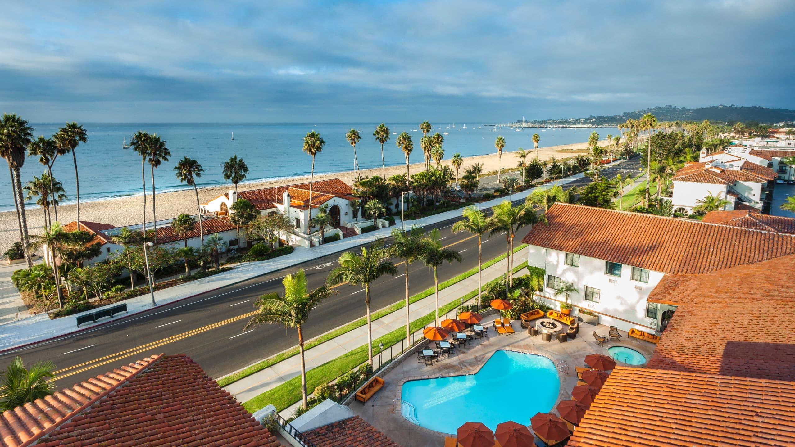 Hotels In Santa Barbara >> Beachfront Santa Barbara Hotel Hyatt Centric Santa Barbara