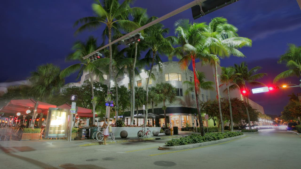 South Beach Miami Lincoln Road Mall Photo