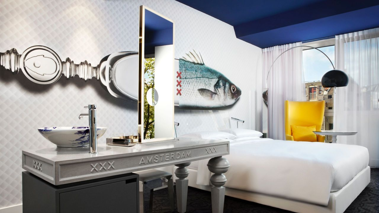 Andaz Amsterdam Prinsengracht 1 King Bed Canal View