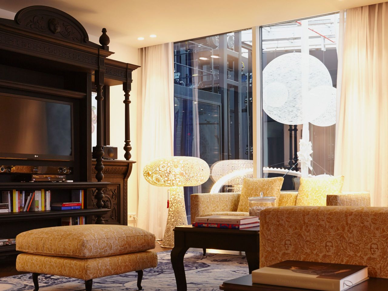 Andaz Amsterdam, Prinsengracht | Prinsengracht Suite Living Room