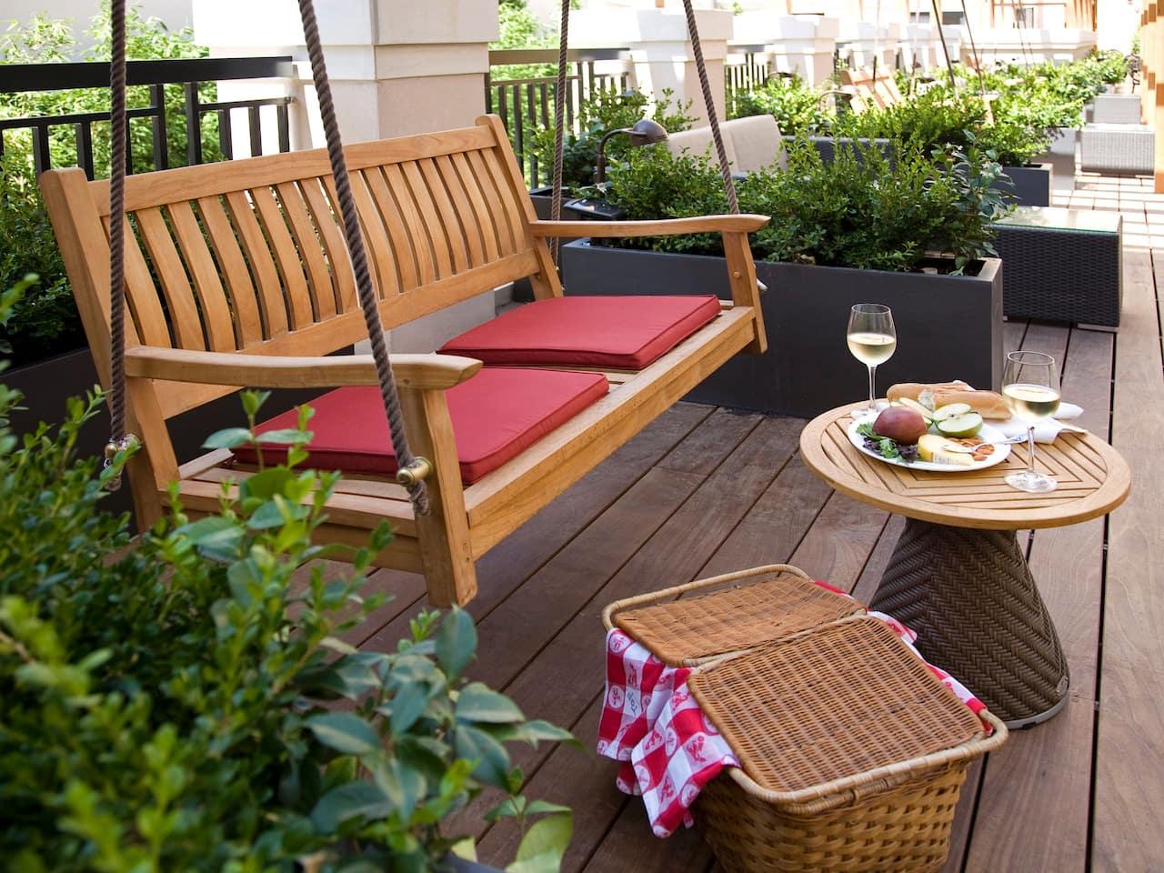 terrace picnic