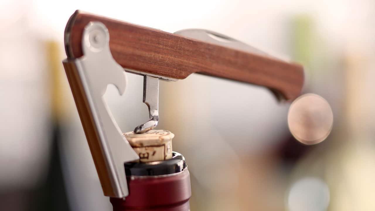 Andaz Napa Wine Opener Detail