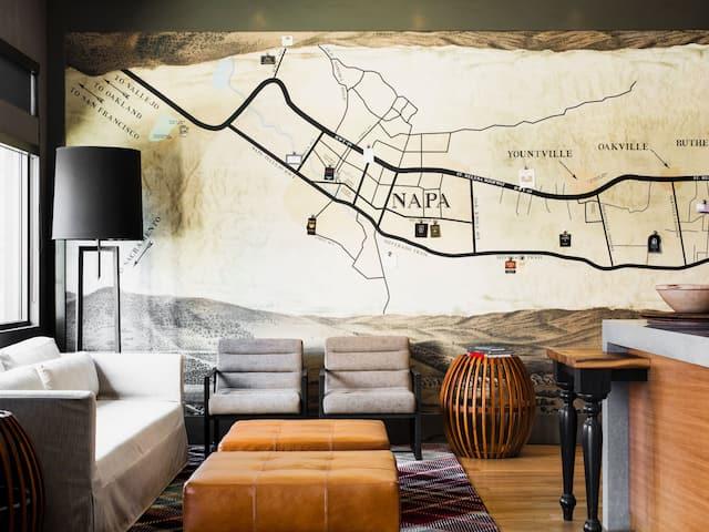 Andaz Napa Lobby Lounge