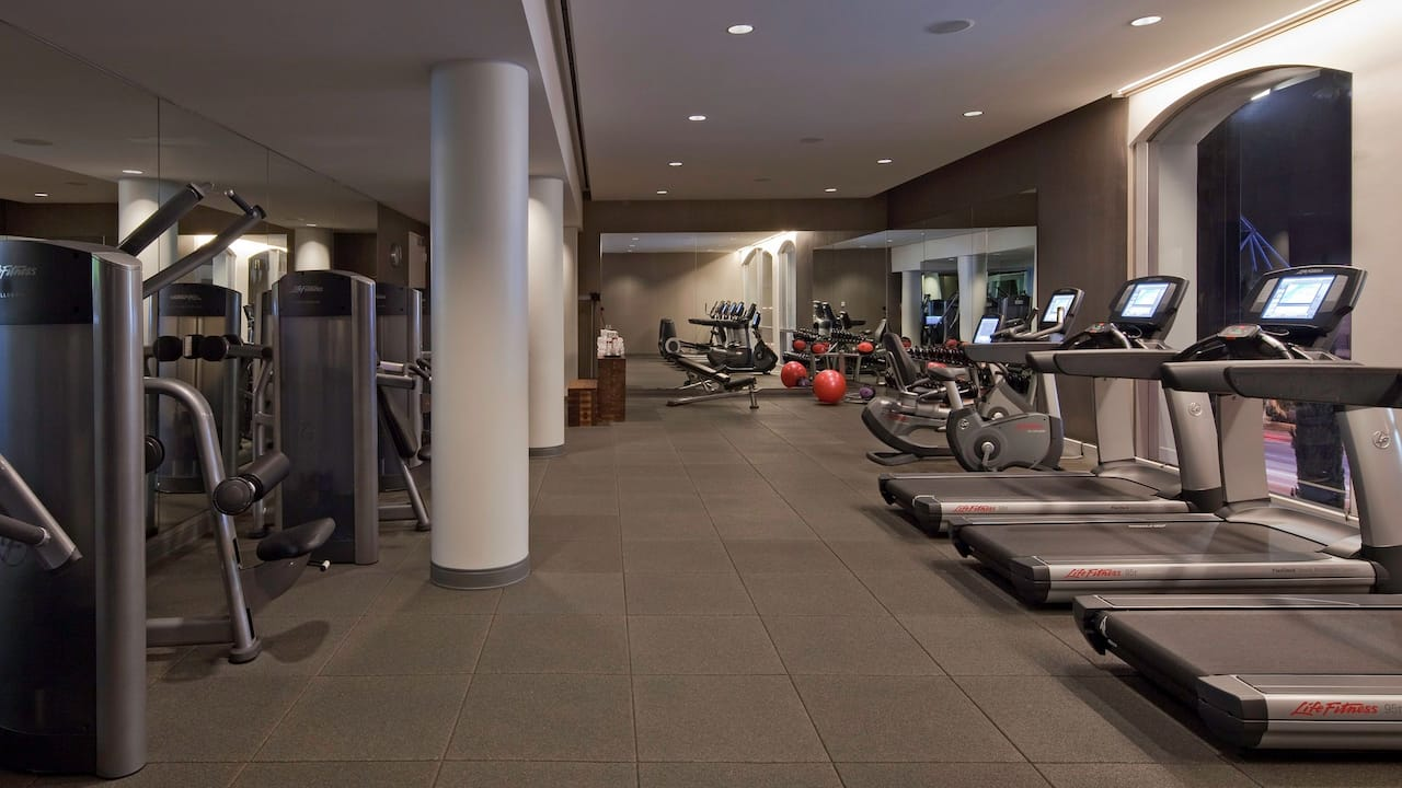 West Hollywood Hotel Fitness Center