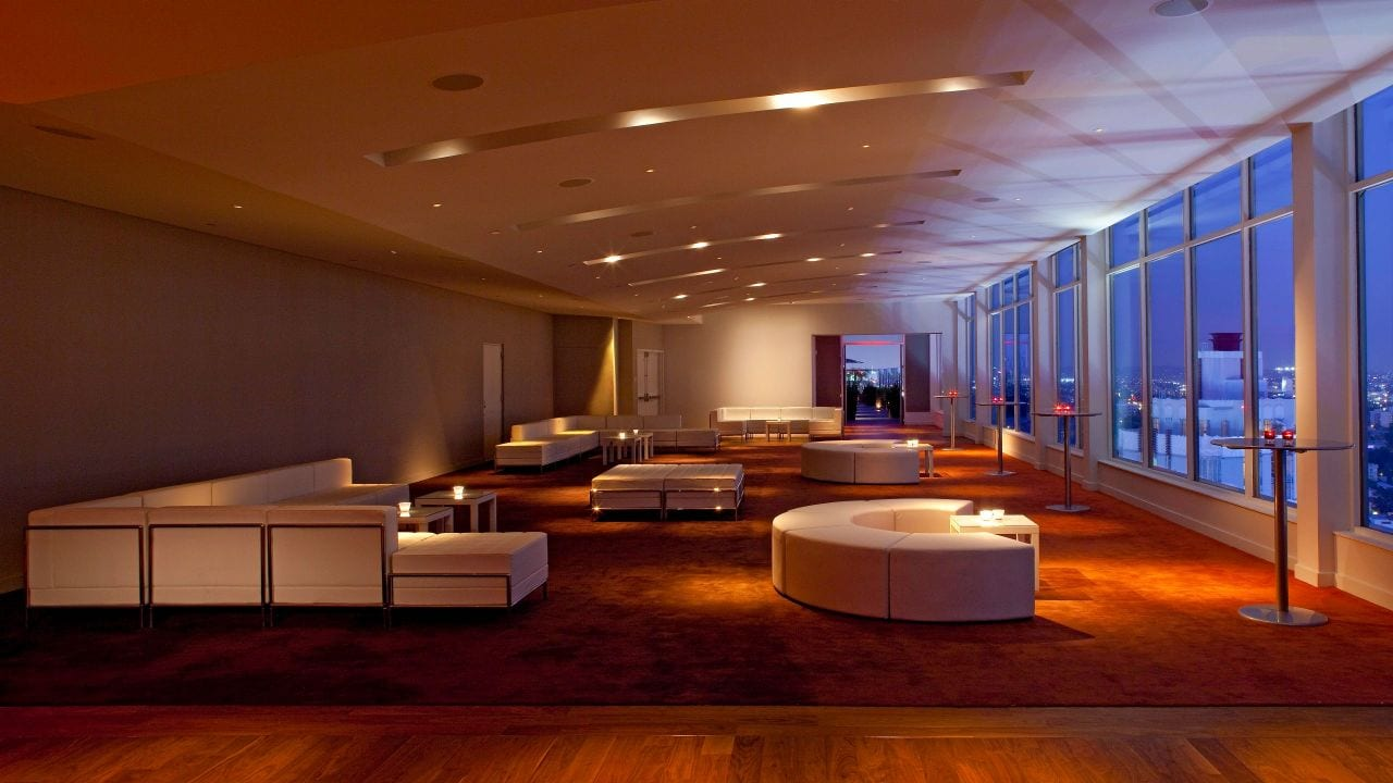Ballroom with Panoramic Views Andaz West Hollywood