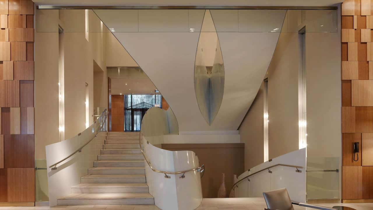 Street Staircase at Andaz Wall Street