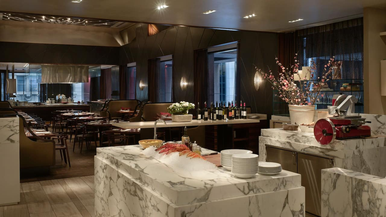 Restaurant at Andaz Wall Street