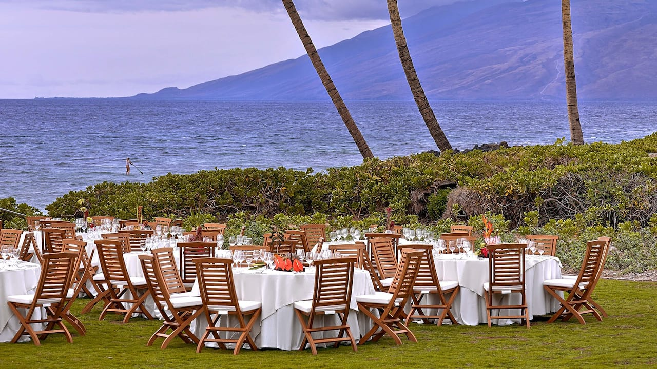 ANDAZ MAUI AT WAILEA RESORT | Event Lawn