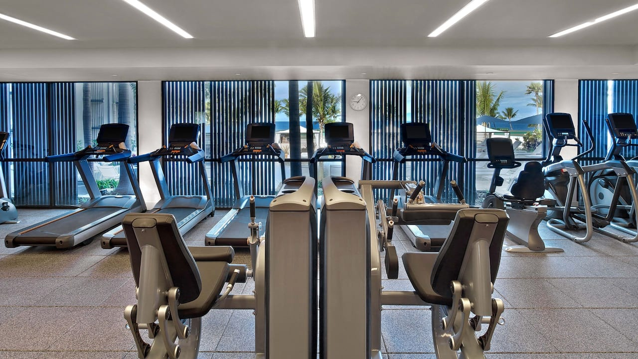 Fitness Center Andaz Maui at Wailea Resort