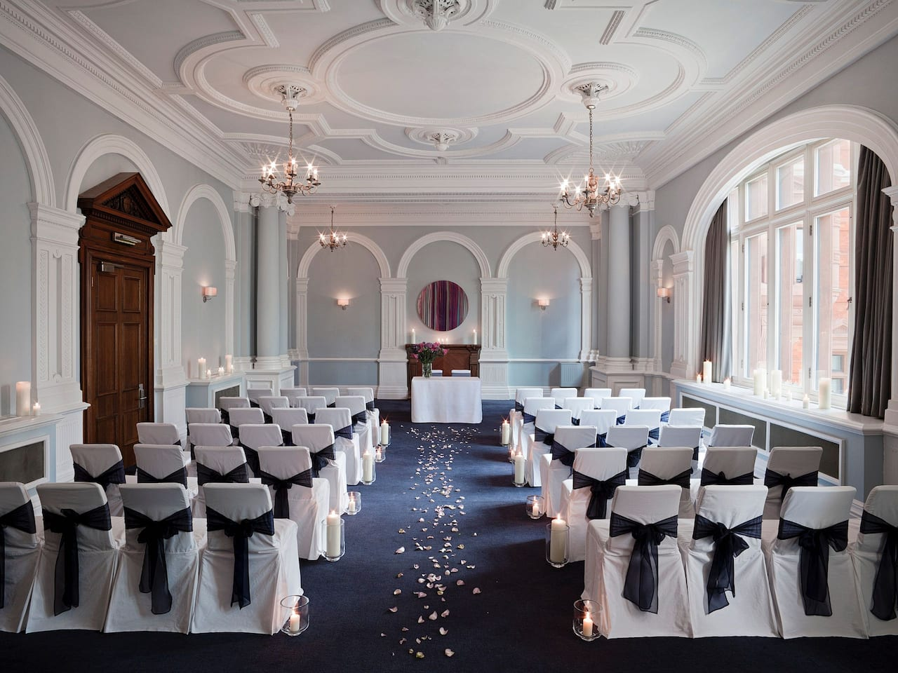 Wedding venue at Andaz London Liverpool Street