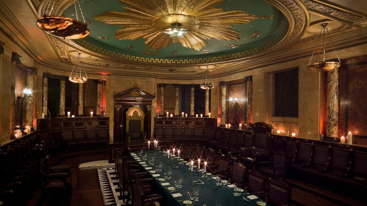 Masonic Temple London | Andaz London Liverpool Street