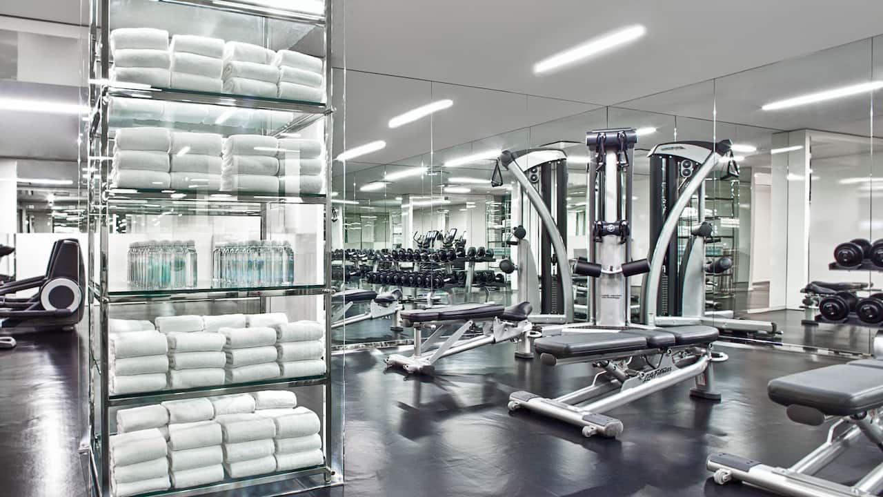 Fitness Center Andaz 5th Avenue