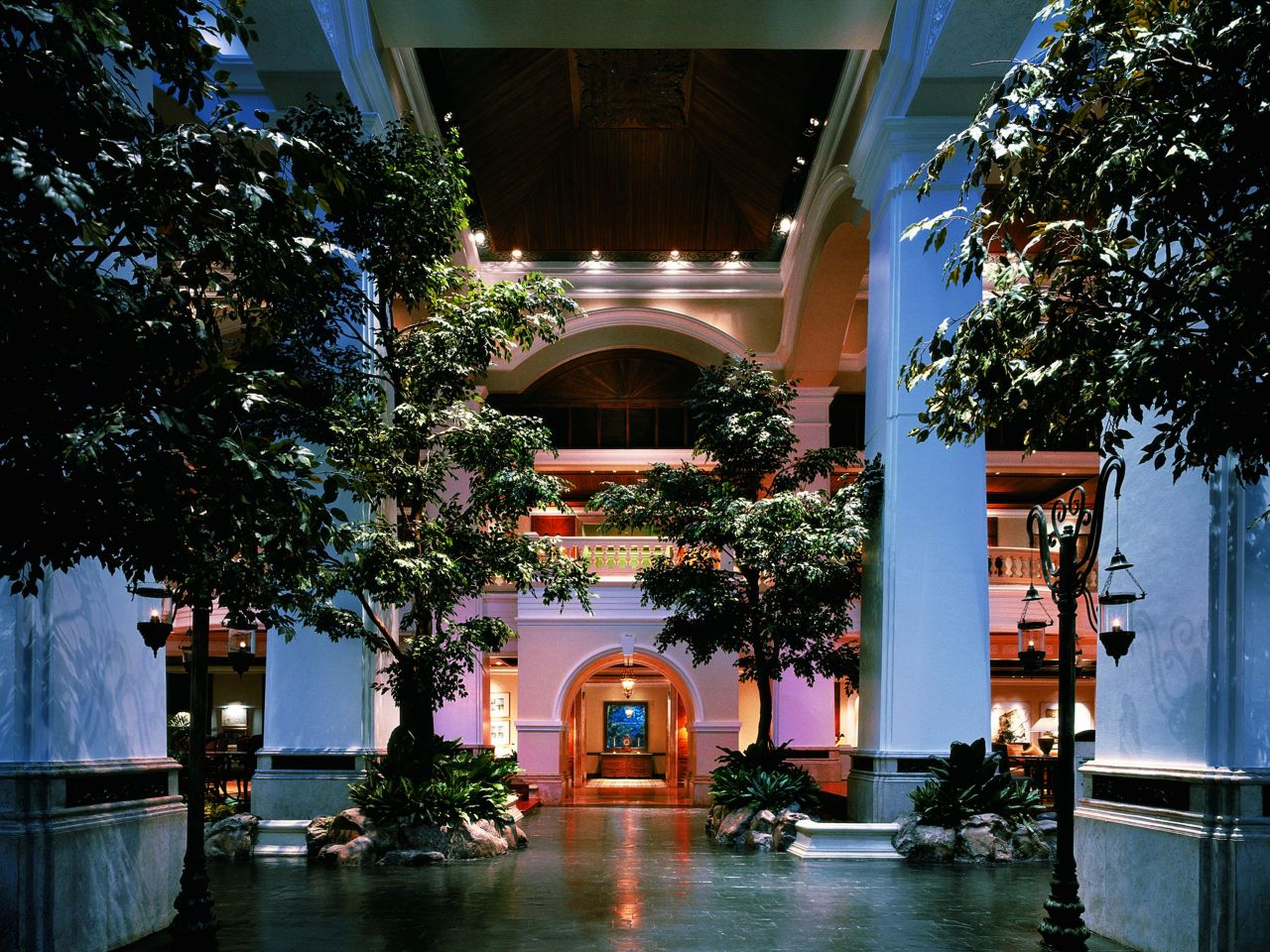 The Garden Lounge - Grand Hyatt Erawan Bangkok