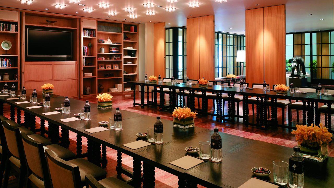 Residence meeting room
