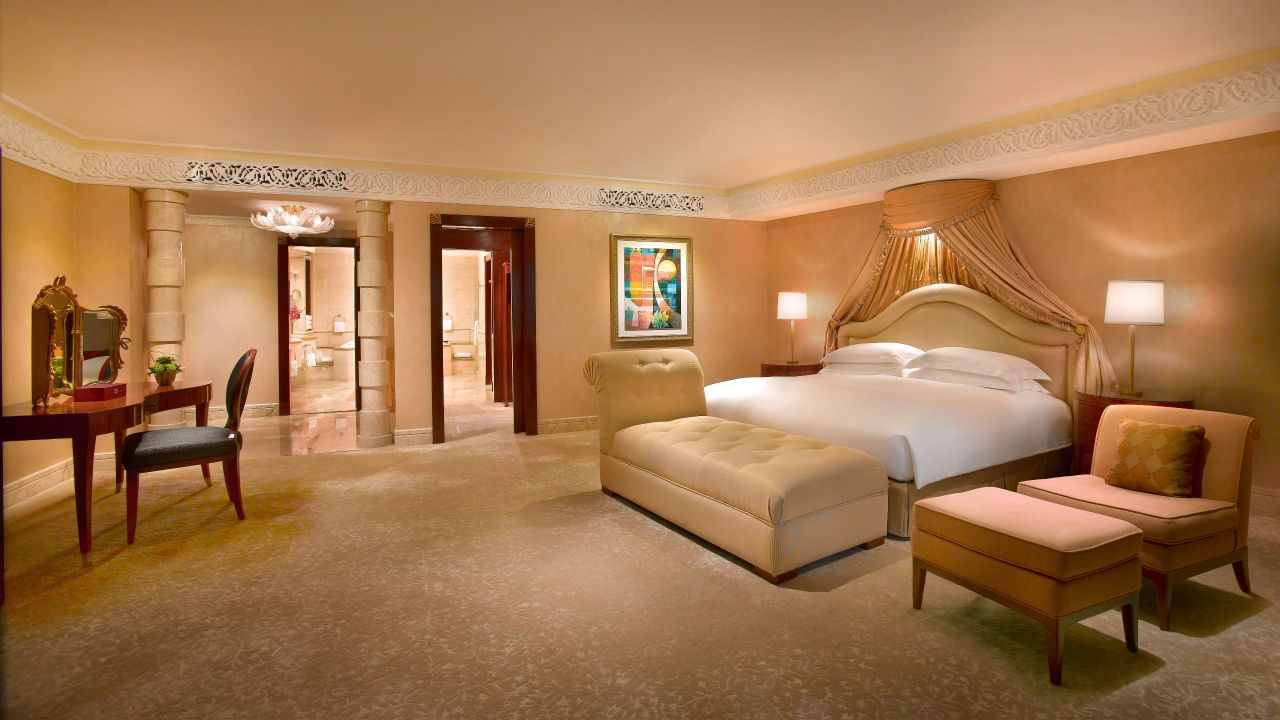 grand hyatt dubai prince suite king