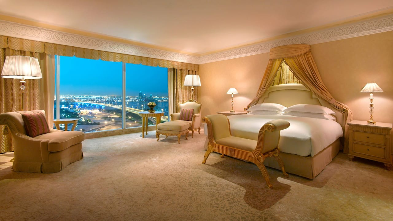 grand hyatt dubai royal suite king