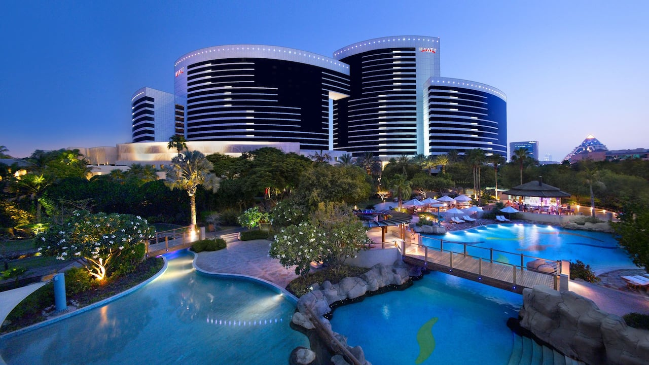 Grand Hyatt Dubai Exterior