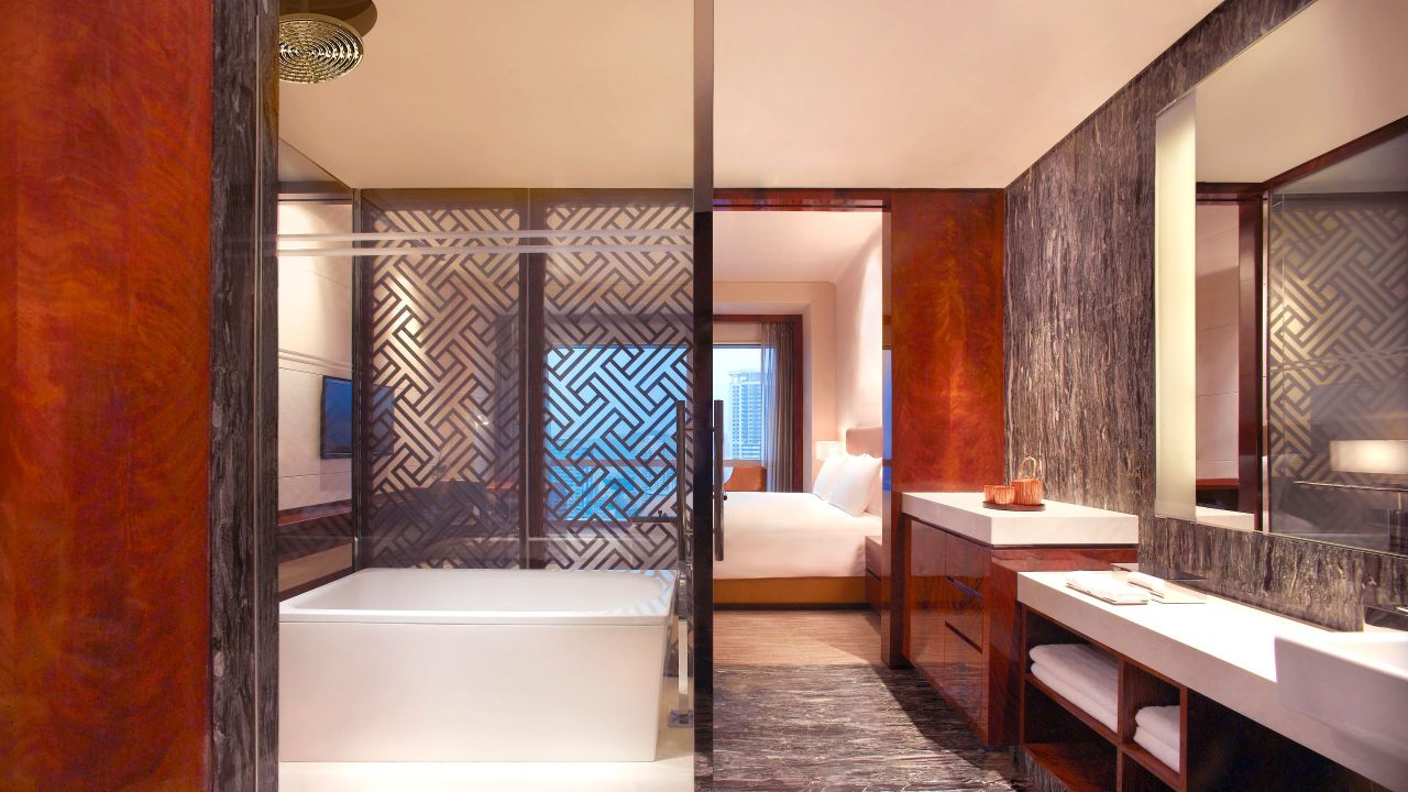 Grand Hyatt Shenzhen Bathroom