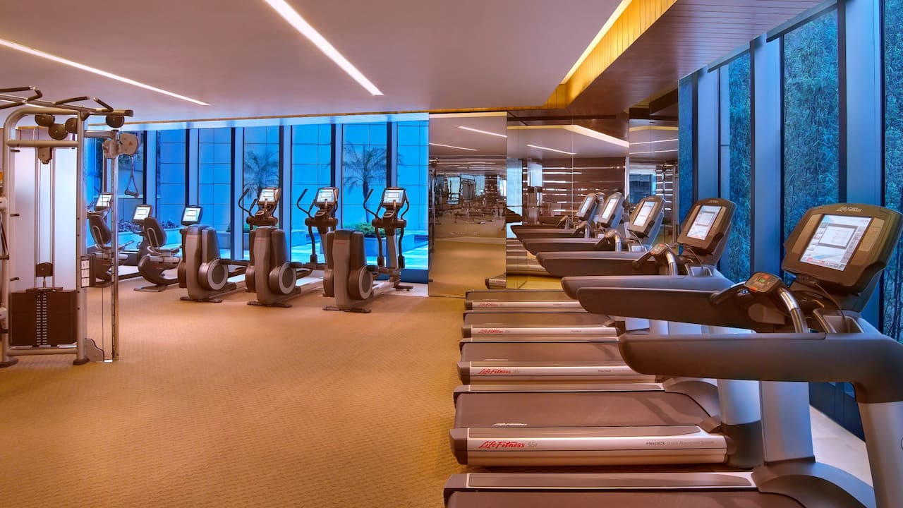 Grand Hyatt Shenzhen Gym