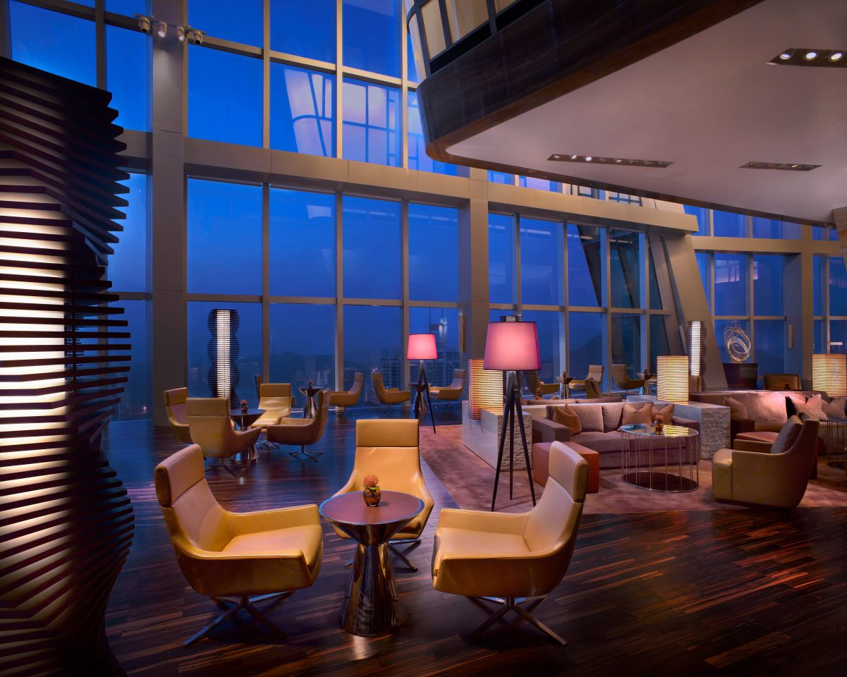 Grand Hyatt Shenzhen- The Lounge