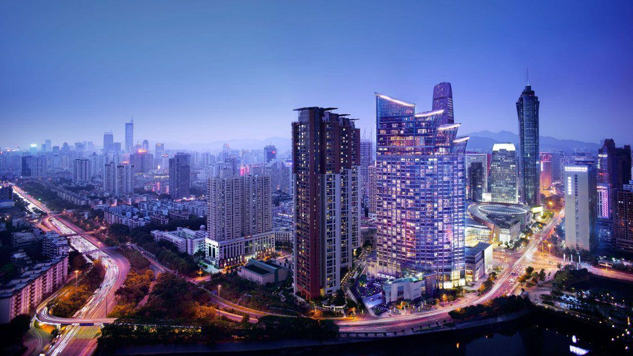 Grand Hyatt Shenzhen Entrance