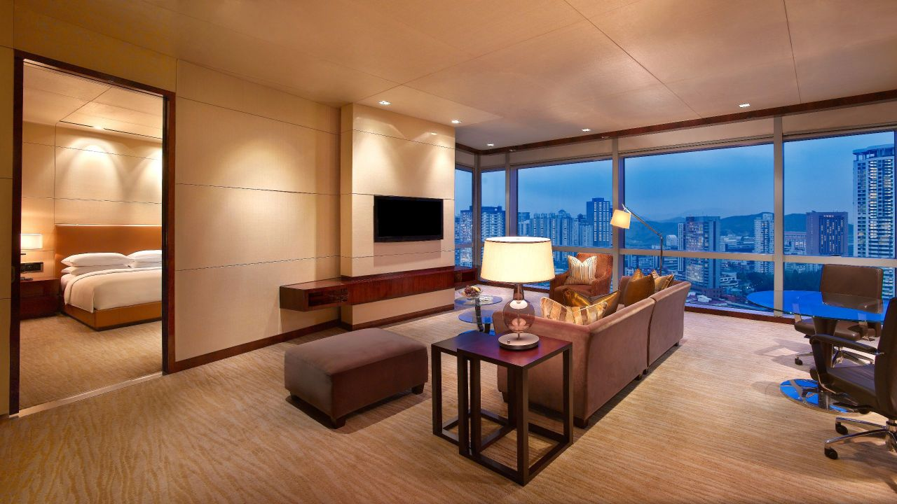 Grand Hyatt Shenzhen Premier Suite