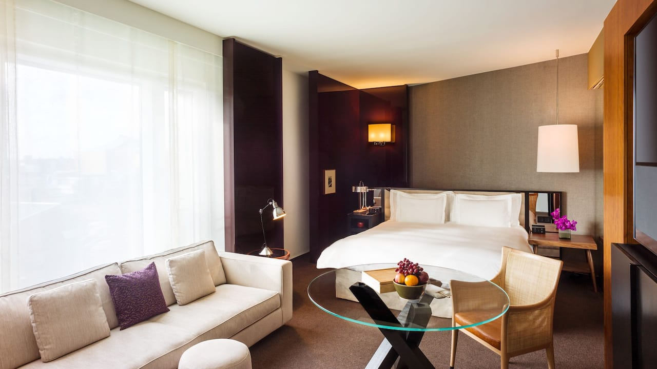 Junior Suite im Grand Hyatt Berlin
