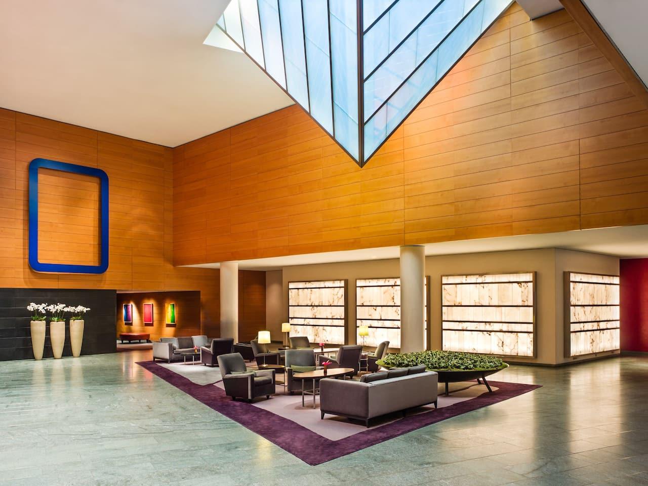 Lobby at Grand Hyatt Berlin