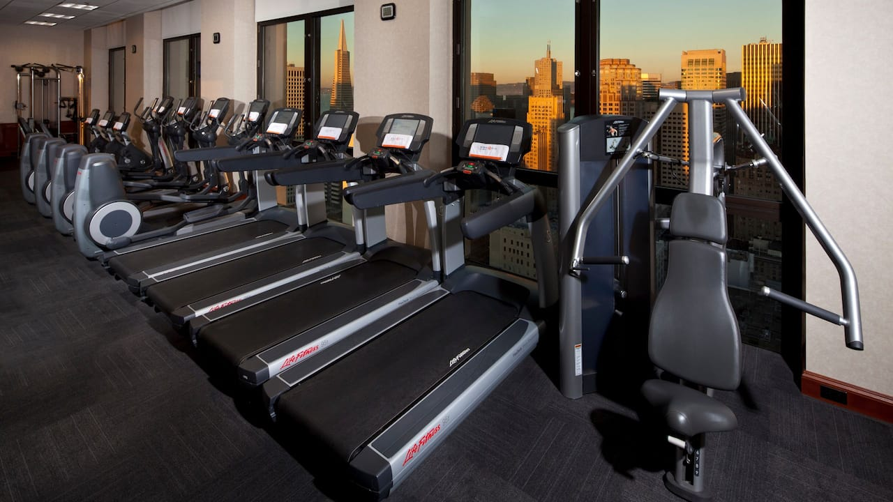 Grand Hyatt San Francisco Gym