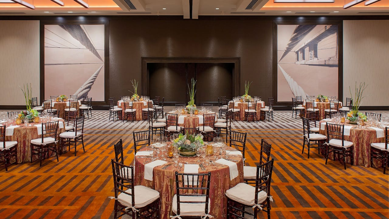 Grand Hyatt San Francisco Ballroom Wedding