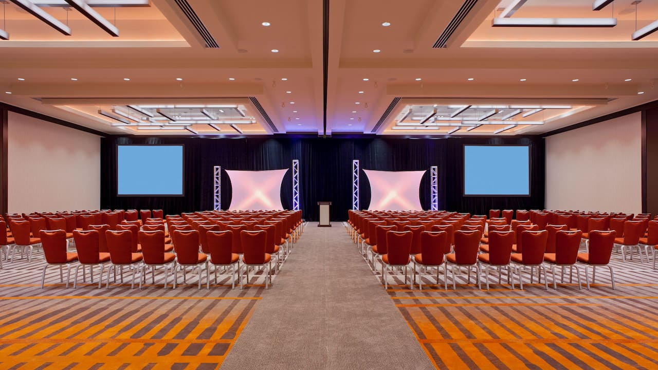 Grand Hyatt San Francisco Ballroom Meeting